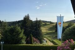 Aussicht Garten Landgut Dreiburgenland