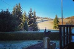 Erster Morgenfrost am Ferienhof