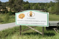 Landgut Dreiburgenland Schild